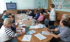 Визит представителей ФГБУ НИЦ «Гидрометцентр России» в Белгидромет
